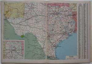 1984 rand mcnally road atlas united states highway maps