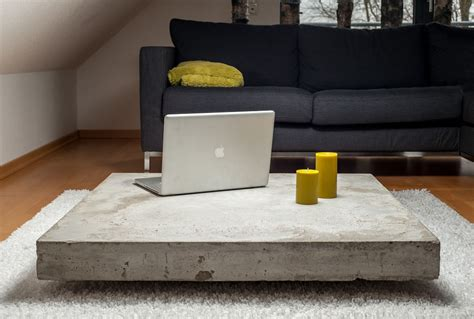 Coffee Table Lounge Concrete Coffee Tables You Can Buy Or Build Yourself