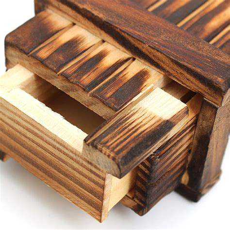 woodworking secrets mini compartment wooden secret magic puzzle box alex nld