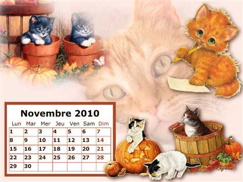 Calendrier Novembre 2010 Calendrier Fonds D 233 Cran De Novembre 2010
