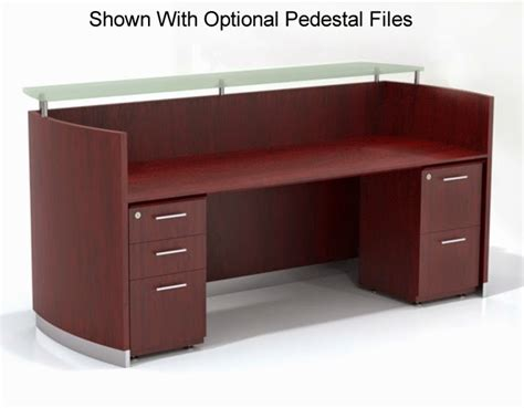 mayline reception desk mayline medina series 72 quot reception desk