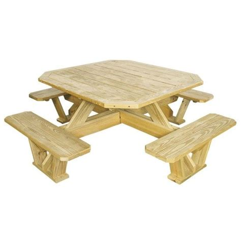 amish pine square picnic table amish picnic tables