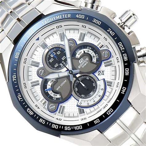 Casio Ori Silver casio gents chronograph edifice ef 554d 7avef