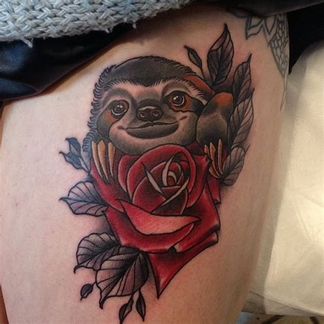 sloth tattoos designs ideas and meaning tattoos for you