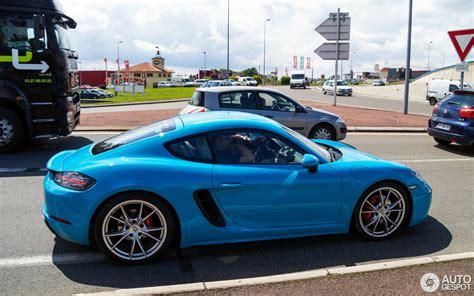 Porsche Cayman S by Porsche 718 Cayman S 20 Juin 2016 Autogespot