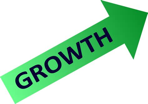 symbol of growth growth chart symbol clip art at clker com vector clip