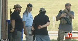 Arm Guard By Ks Moslem Store guarding oklahoma gun range that declared itself
