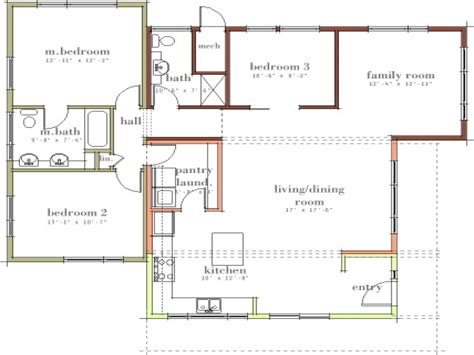 floor plans of houses small open floor plan kitchen living room small house open