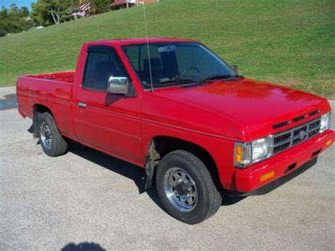 buy used 1990 nissan d21 up truck 4 cylinder