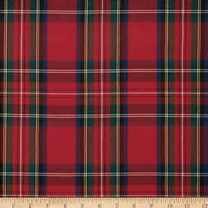 what is plaid polyester uniform plaid red green blue discount designer fabric fabric com