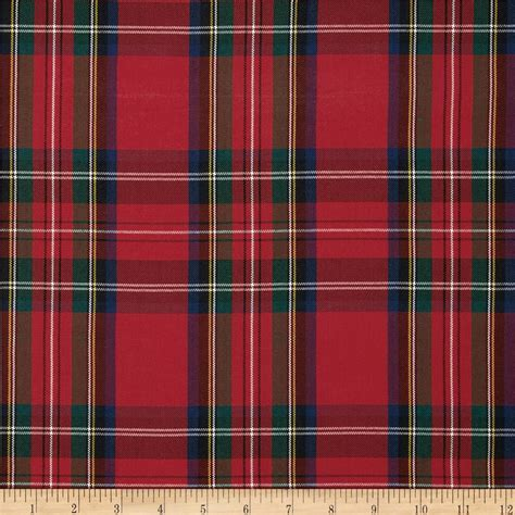 plaid fabric polyester plaid green blue discount designer fabric fabric