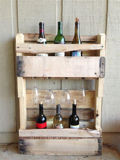 Repurposed Wine Rack by Repurposed Pallet Wine Rack Repurposed By Me