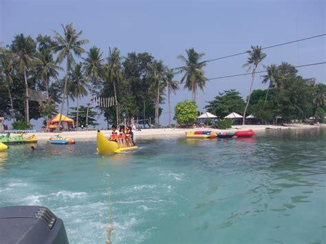 banana boat ancol pantai ancol jakarta pulau tidung gudus pulau