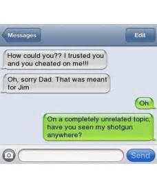 Text Message Memes - text message meme 001 wrong text to dad cheated funny