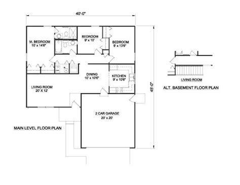 how big is 1100 square feet 3 bedroom house plans ideas