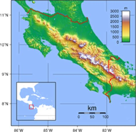 5 themes of geography costa rica geography of costa rica wikipedia
