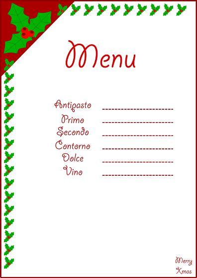 cornici menu cornici per menu di natale demonflower