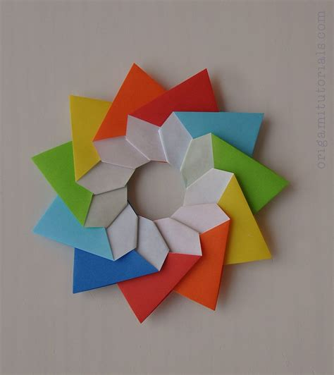 origami stella della mamma tutorial origami origami origami paper origami tutorial