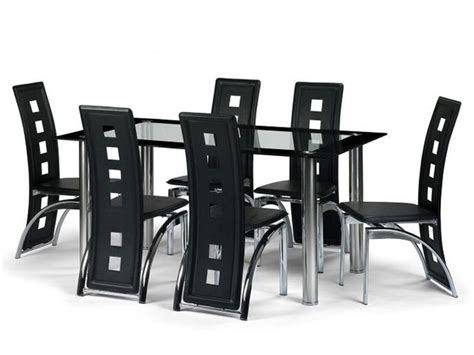 black glass extending dining table 6 chairs black glass extending dining table 6 chairs table designs