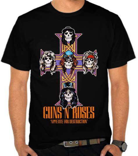 Kaos Guns N Roses Gnr8 jual kaos guns n roses 9 guns n roses satubaju