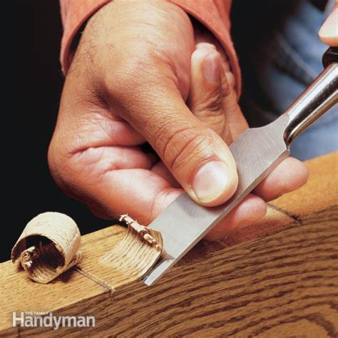 tool basics woodworking tools and how to use them books how to use a wood chisel the family handyman