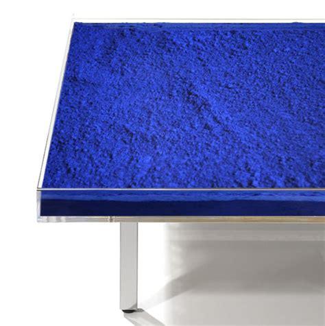 yves klein blue table yves klein table bleu for sale artspace