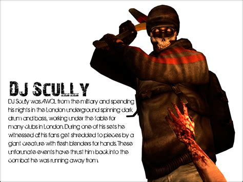 killing floor dj scully by zeekypoe on deviantart