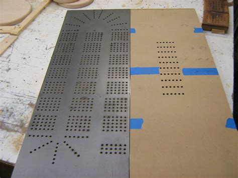 Splinters Woodworks Custom Large 6 Person Cribbage Board