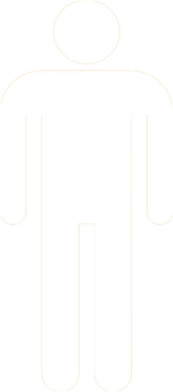 white silhouette man silhouette white clip art at clker com vector clip
