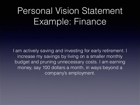 personal vision statement template how to write a personal vision statement for 2014