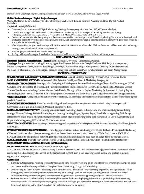 las vegas resume services