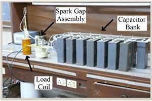 yesha capacitors pulsed magnetic field measurement outside finite length solenoid experimental results