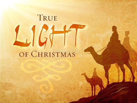new jesus themes true light of christmas powerpoint template christmas