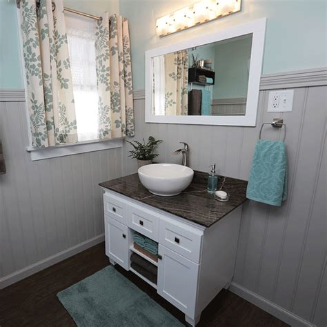 Installing Bathroom Vanity How To Install A Vessel Sink