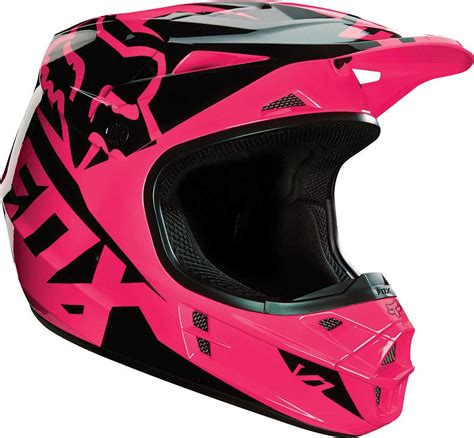 womens motocross helmets 2016 fox racing womens v1 race helmet motocross dirtbike