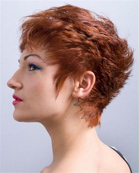 pixie haircuts women thick hair front and back view of same modern pixie haircuts