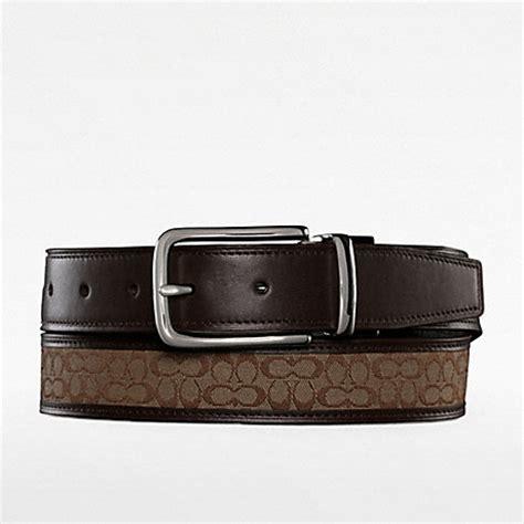 Coach Belt coach f90107 reversible signature belt 18882 coach