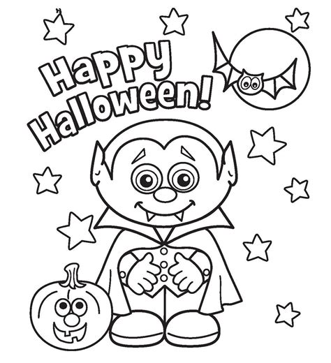 halloween coloring pages free printable coloring