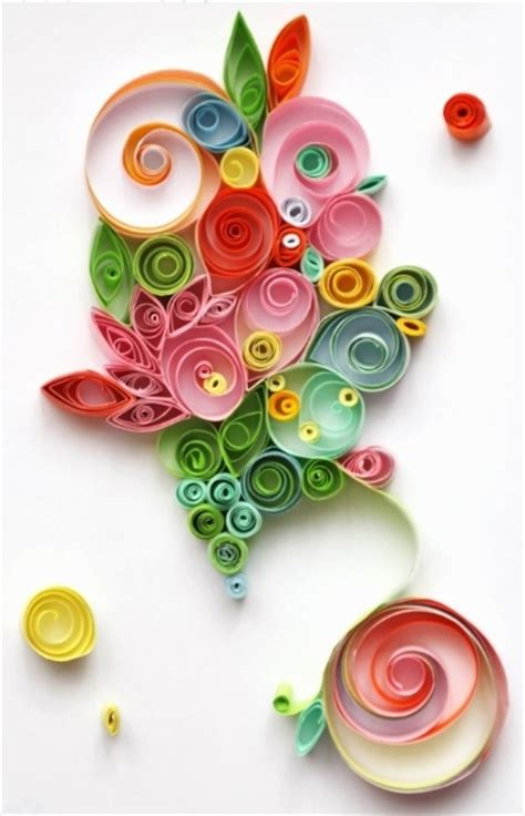 Quilling Paper Craft Ideas - beautiful paper quilling
