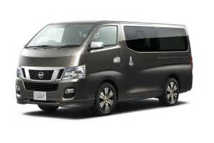 new car vans tokyo show preview new nissan nv350