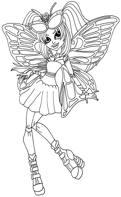 monster high gooliope coloring pages monster high coloring pages bestofcoloring com