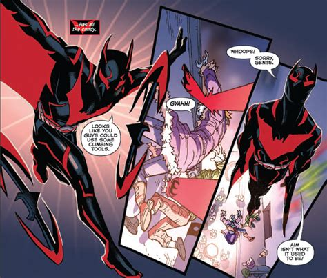 Batman Beyond Vol 2 Rebirth what are all the batsuits worn by batman in the comics
