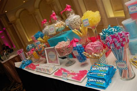 pink and blue buffet s buffet pink and blue s wedding blue nd silver