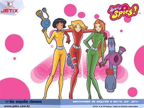 totally spies totally spies totally spies wallpaper 6783555 fanpop