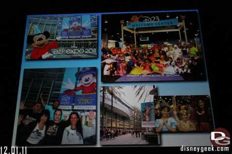 fall 2011 d23 d23 update salute to all things disney but mostly disneyland