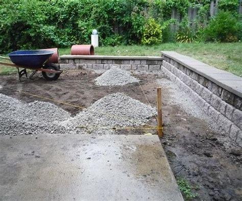 extend concrete patio backyard patio transformation
