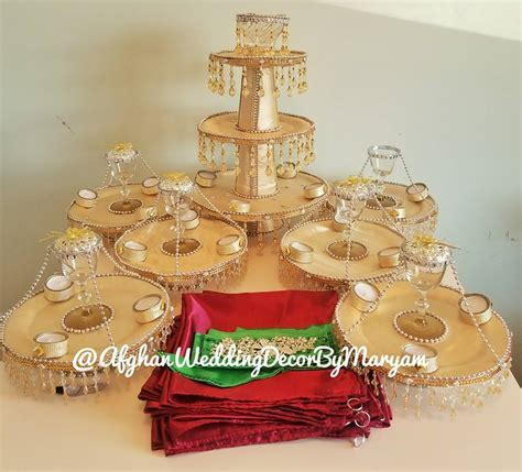 Afghan Wedding Decor and Accessories by Maryam   Home