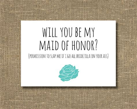 will you be my of honor card template will you be my of honor ask of honor