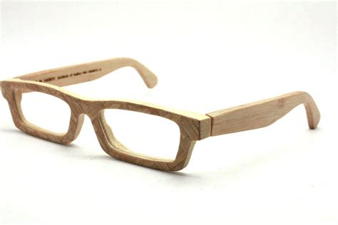 eyeglasses frames on style bamboo and