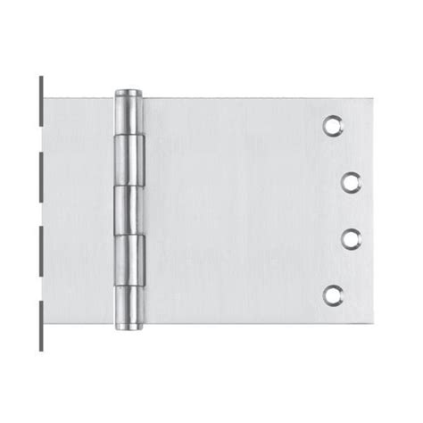 wide swing hinges 100x250 fixed pin wide throw button tip hinge